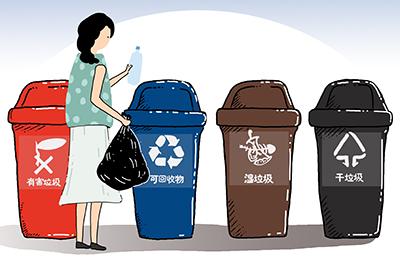 提供垃圾分类回收服务的公司